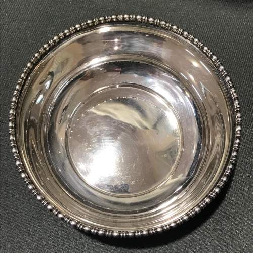 Early 1900s Sterling Silver Bowl image-3