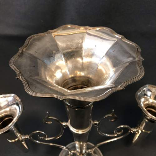 Good Quality Silver Plated Epergne image-6