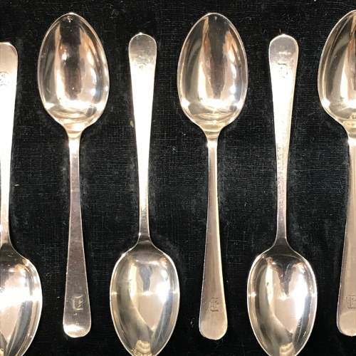 Cased Set of Six Silver Spoons image-2