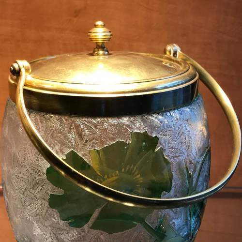 Baccarat Glass Biscuit Barrel image-2