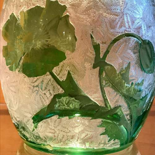 Baccarat Glass Biscuit Barrel image-3
