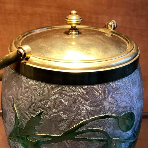 Baccarat Glass Biscuit Barrel image-6