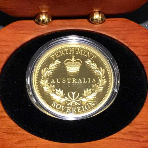 2017 Australian Proof Gold Sovereign image-2