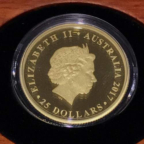 2017 Australian Proof Gold Sovereign image-3