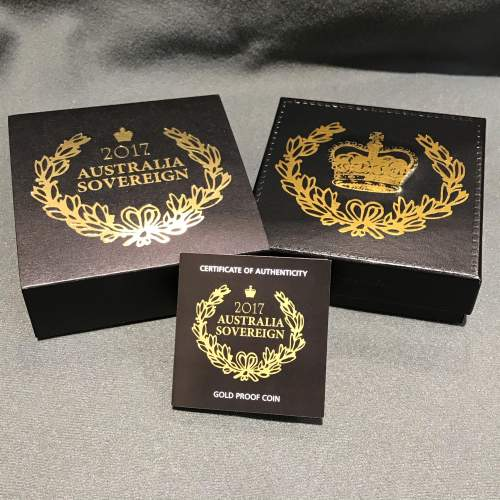 2017 Australian Proof Gold Sovereign image-4