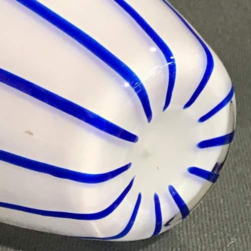Loetz White Glass Vase by Michael Powolny image-4