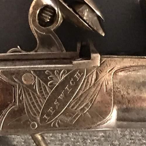 19th Century Pair of Flintlock Boxlock Pocket Pistols image-6