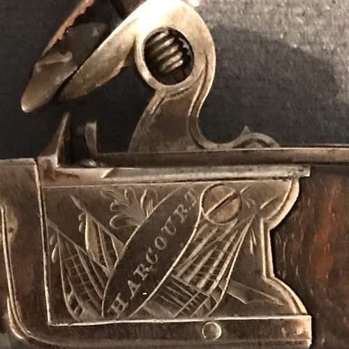 19th Century Pair of Flintlock Boxlock Pocket Pistols image-5