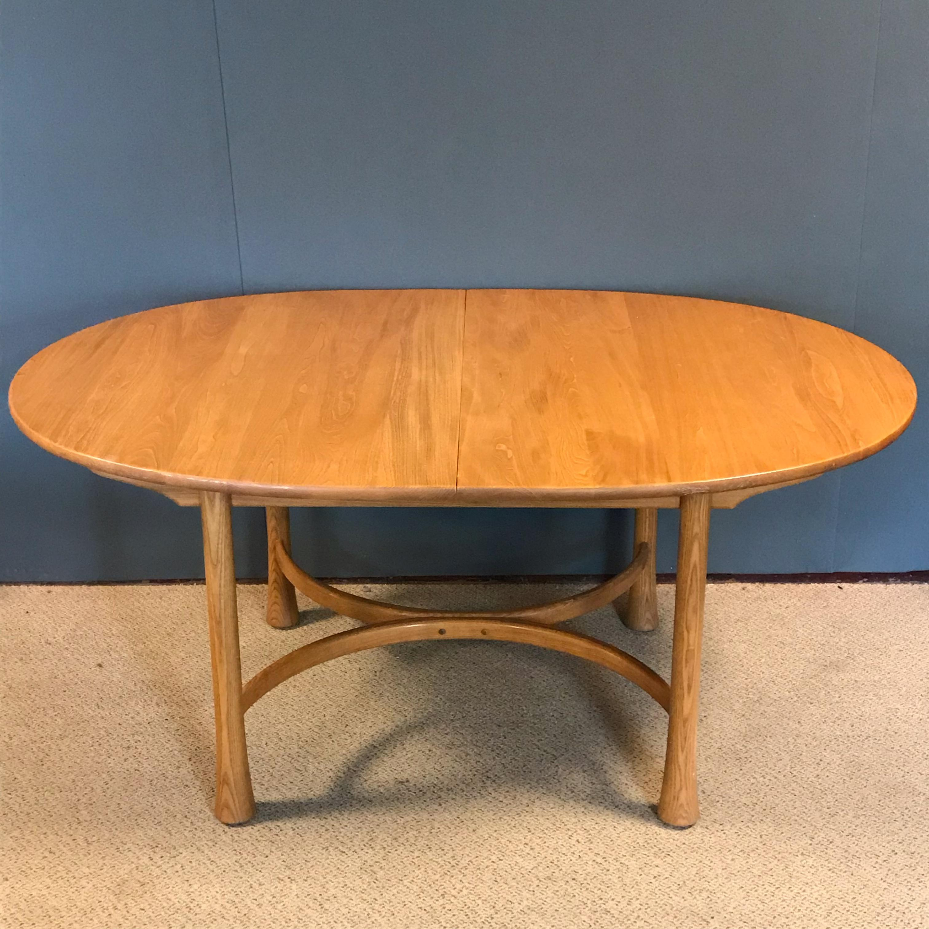 Ercol Saville Oval Extending Dining Table Antique Dining