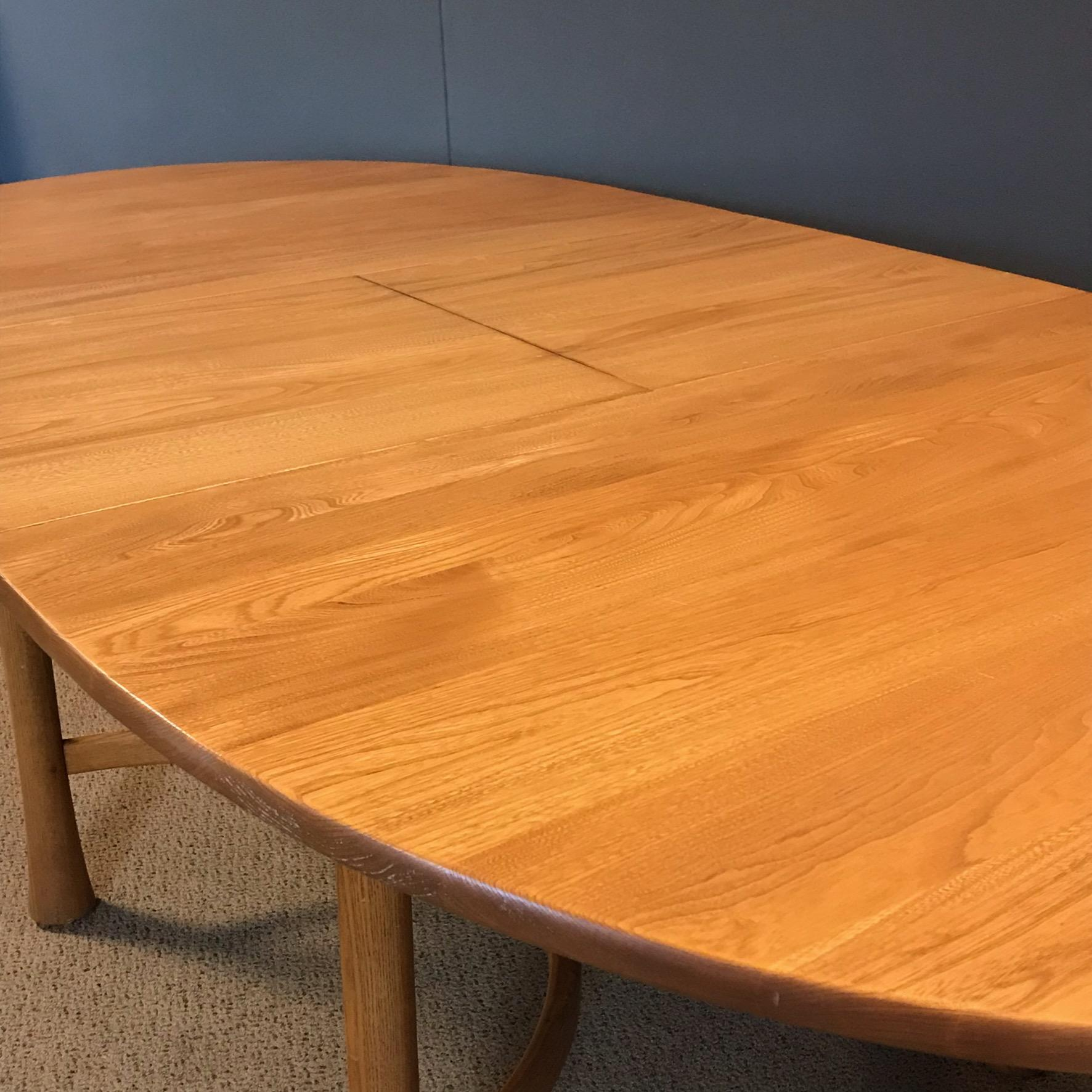 Ercol Saville Oval Extending Dining Table Furniture Etc