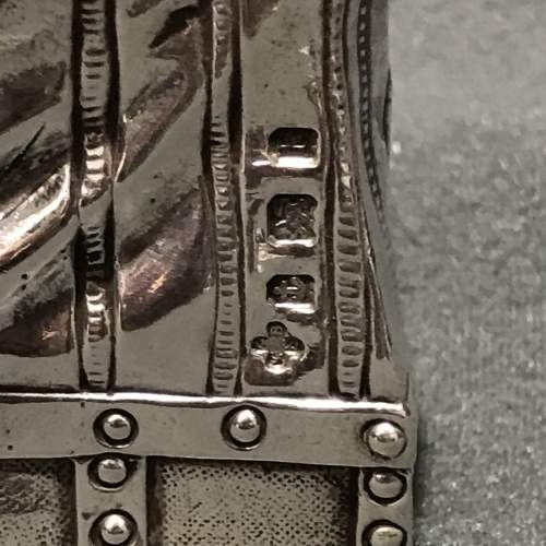 Novelty Silver Handbag Vesta image-2