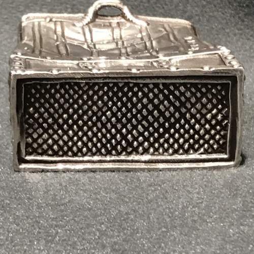 Novelty Silver Handbag Vesta image-4