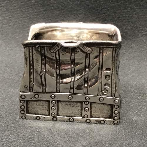 Novelty Silver Handbag Vesta image-1