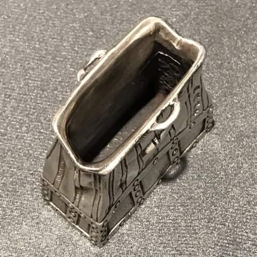 Novelty Silver Handbag Vesta image-3
