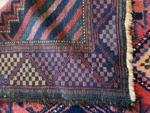 Superb Old Hand Knotted Kurdish Rug Stunning Village Piece image-5