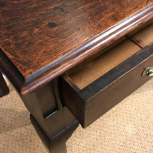 18th Century Oak Lowboy image-3