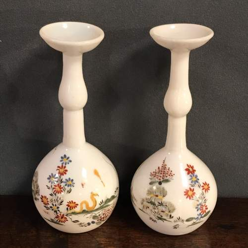Pair of Early 19th Century Glass Vases image-1
