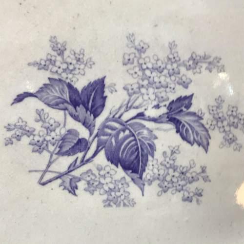 Wedgwood Transfer Printed Meat  Plate image-3