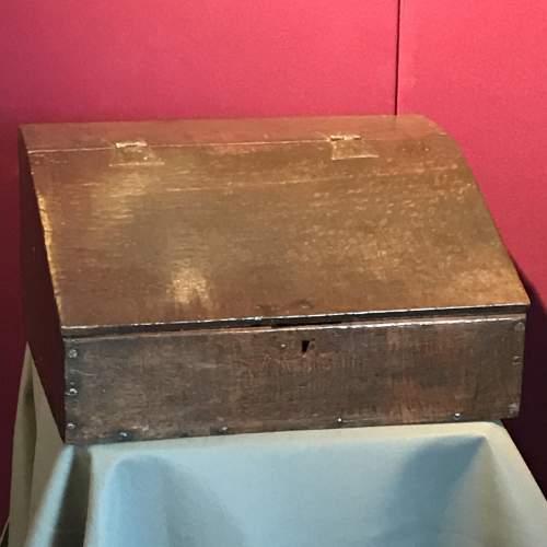 Small Late 17th Century Desk Box image-1