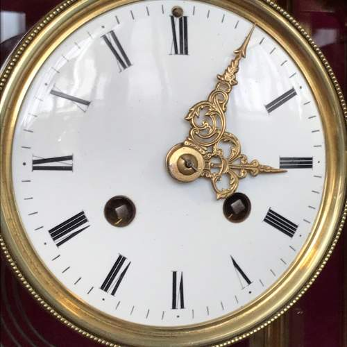 Late 19th Century French Four Glass Clock image-4