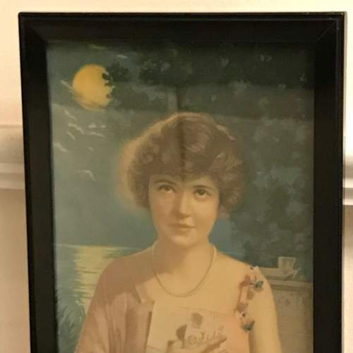 Framed 1920s Print of Absence Cannot Hearts Divide image-2