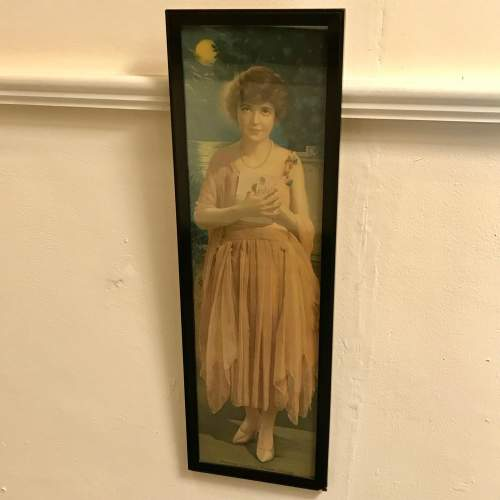 Framed 1920s Print of Absence Cannot Hearts Divide image-1
