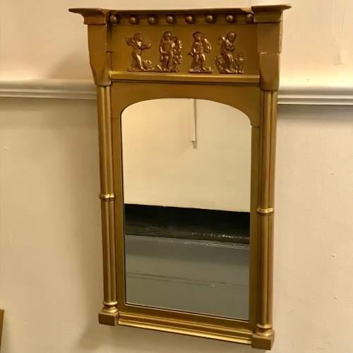 Decorative Victorian Gilded Pier Glass image-1