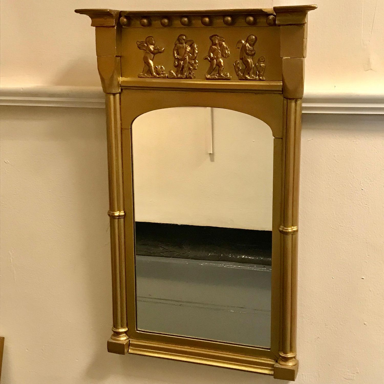 Decorative Victorian Gilded Pier Glass