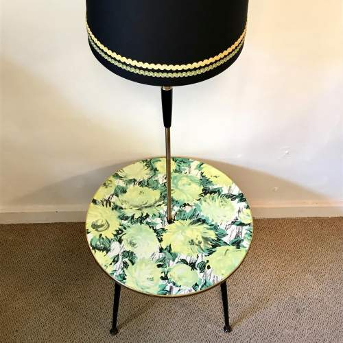 1950s Retro Coffee Table and Standard Lamp image-1