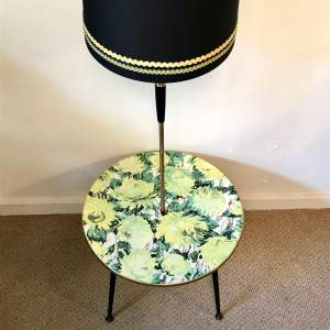 1950s Retro Coffee Table and Standard Lamp