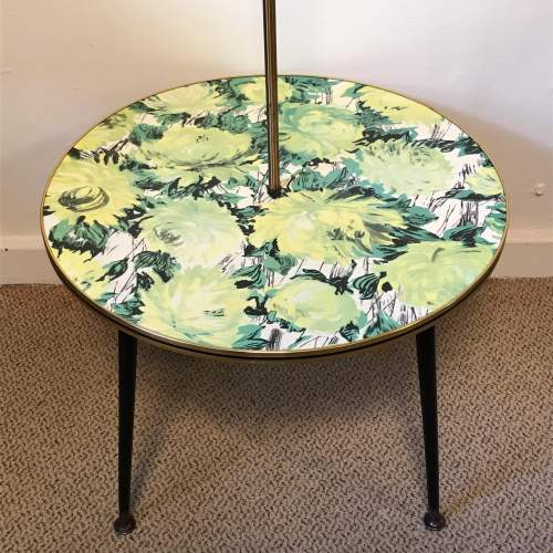 1950s Retro Coffee Table and Standard Lamp image-2