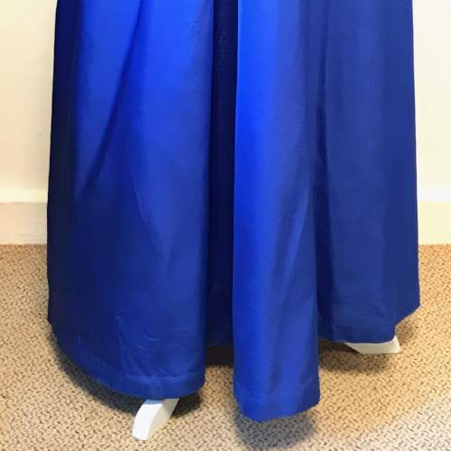 1950s Royal Blue Ball Gown image-2