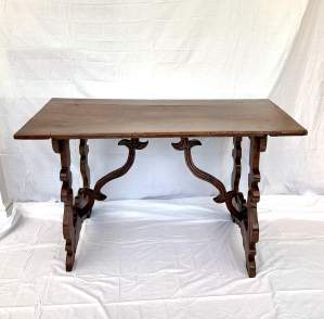An 18th Century Spanish Walnut Table