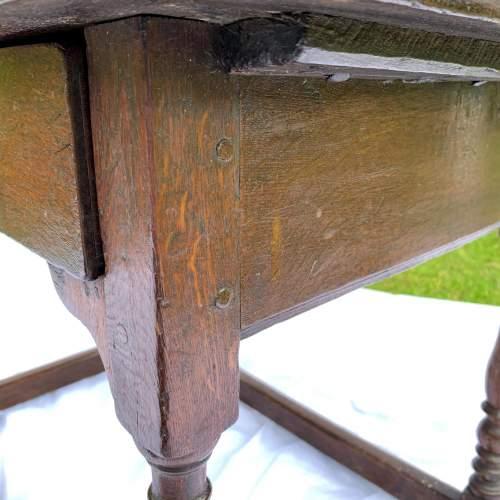 A William III Oak Side Table image-6