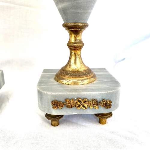 Pair of French Marble Urns Circa 1900 image-4