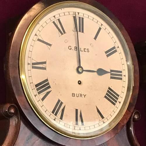 Regency Period Fusee Dial Clock with Bracket image-2