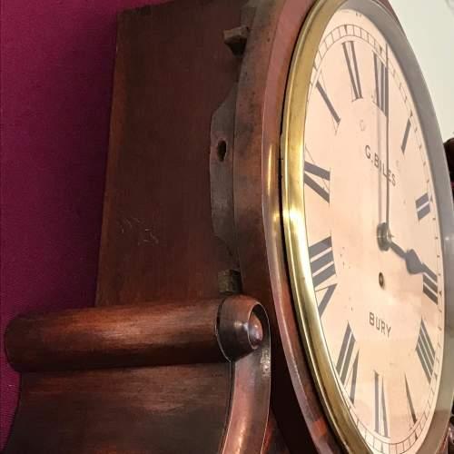 Regency Period Fusee Dial Clock with Bracket image-4