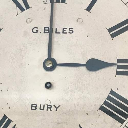 Regency Period Fusee Dial Clock with Bracket image-5