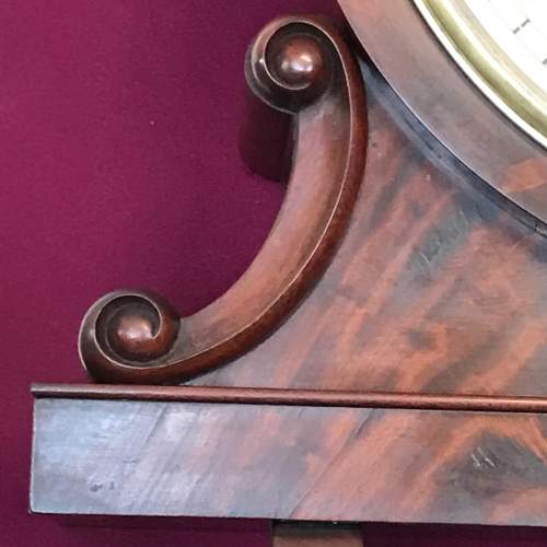 Regency Period Fusee Dial Clock with Bracket image-6