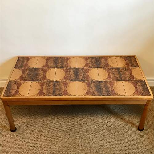 1970s Danish Teak Coffee Table image-1