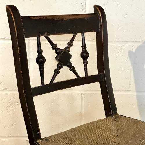 Early 19th Century Childrens Rocking Chair image-2