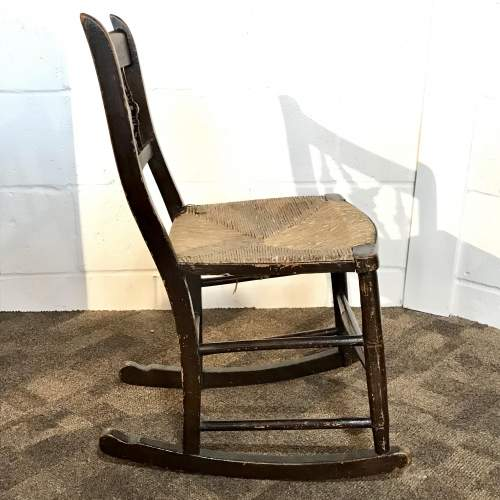 Early 19th Century Childrens Rocking Chair image-4