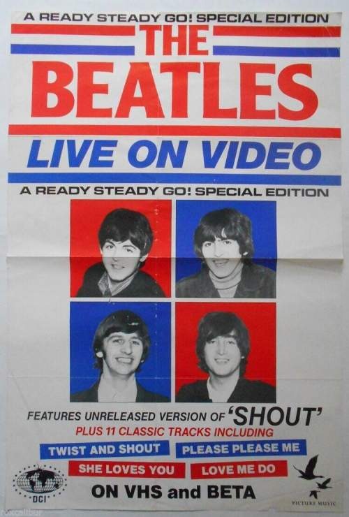 Four of The Beatles Original Record Company Posters image-2