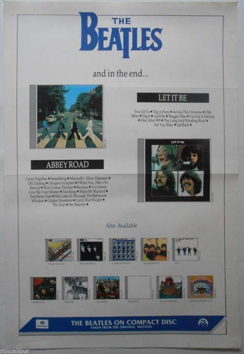 Four of The Beatles Original Record Company Posters image-3