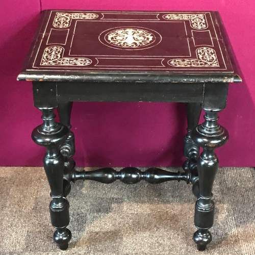 Early 18th Century Italian Occasional Table image-1