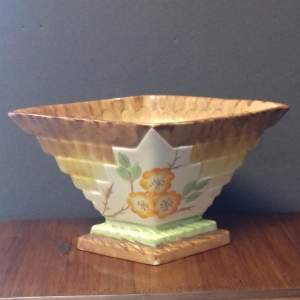 Art Deco 1930s Myott and Son Planter Vase