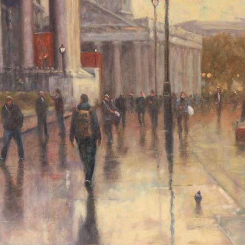 John Tricketts Painting of The Royal Academy image-2
