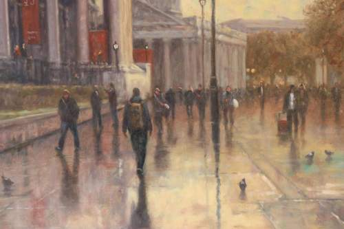 John Tricketts Painting of The Royal Academy image-4