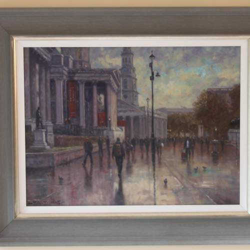 John Tricketts Painting of The Royal Academy image-1