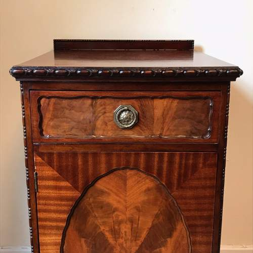 Pair of Late Victorian Solid Mahogany Pedestal Cupboards image-5